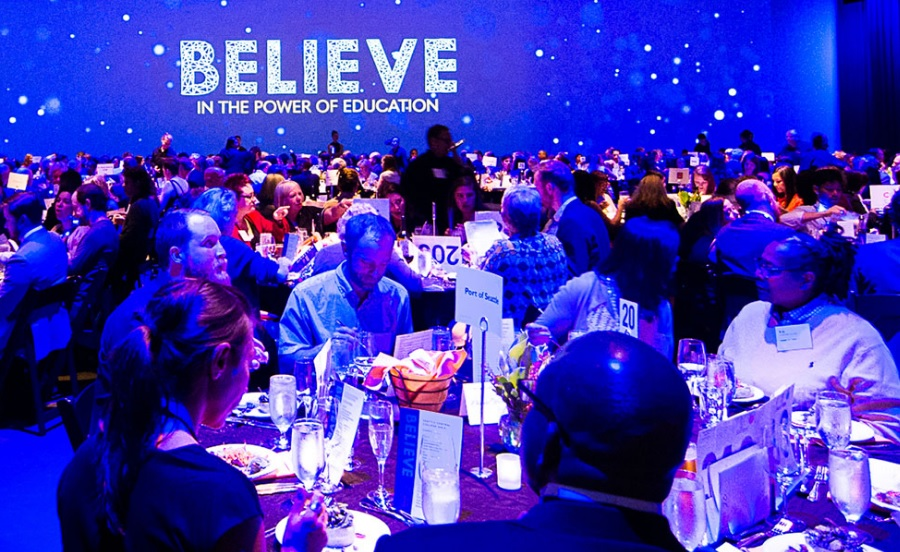 Attendees at Seattle Central's 2018 Believe Gala