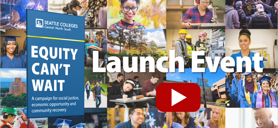 Equity Can't Wait Launch Event