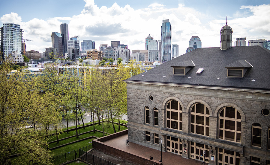 Seattle Colleges skyline